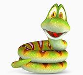 Snake toon — Stock Photo