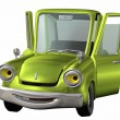 Stock Photo: Toon car