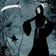 Stock Photo: Grim reaper