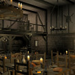 Medieval tavern — Stock Photo #5034561