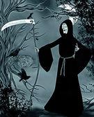 Grim reaper — Stock Photo