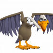 Toon vulture - Stock Photo