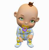 Toon baby — Stockfoto