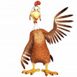 Rooster toon — Stock Photo