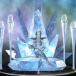 Ice queen - Stock Photo