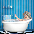 Bathing time - Stock Photo