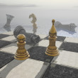 Chess board — Foto Stock