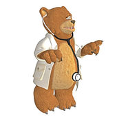 Doctor bear — Stock Photo