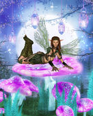 Young fairy — Stock Photo