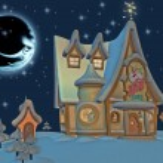 Santa's Home — Foto de Stock
