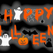 Vector de stock : Happy halloween