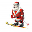 Stock Photo: Happy santa
