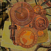 Steampunk-αντικείμενο — ストック写真