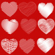 Hearts — Stockvector  #5122590
