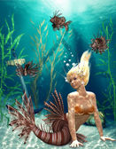 Mermaid — Stockfoto