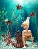 Sirena — Foto Stock