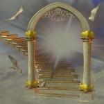 Heavens gate — Stock Photo