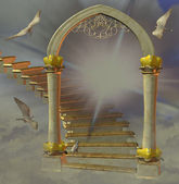 Heavens gate — Stock Photo