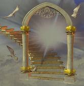 Portão do céu — Foto Stock