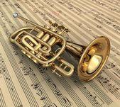 Trumpet — Foto Stock