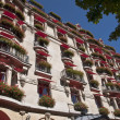 Parisian balconies — Stock Photo