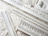 Stucco moulding — Stock Photo