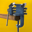 Converted vise — Stock Photo