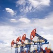 Royalty-Free Stock Photo: Oil field