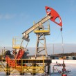 Stock Photo: Pump jack 10