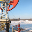 Stock Photo: Oil pump jack 3