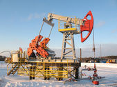 Pump jack 9 — Stock Photo