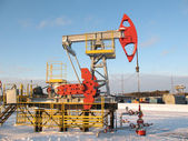 Pump jack 11 — Stock Photo
