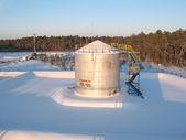 R1 de tanque de óleo — Fotografia Stock