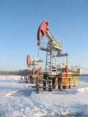 Oil pump jack 2 — Stock Photo
