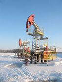 Oil pump jack 2 — Stock Photo