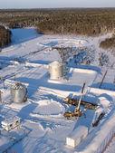 Aerial pipeline 12 — Stock Photo