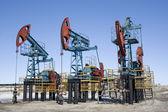 Petrol endüstrisinin 3 — Stok fotoğraf