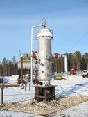 Oil storage — Stock Photo