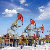 Oil field — Stock Photo