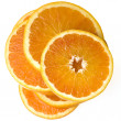 A sliced orange — Stock Photo