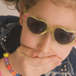 Young girl with sunglasses — Stock Photo #5148416