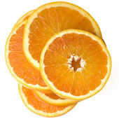 A sliced orange — Stock Photo