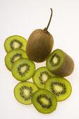 Set of kiwi — Stock Photo