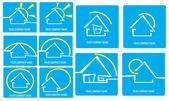 House logo — Stock Photo