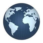 Globe planet — Stock Photo