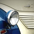 Oldtimer headlight - Stock Photo