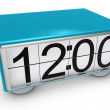 Stock Photo: 3d clock
