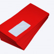 Red envelope — Foto Stock