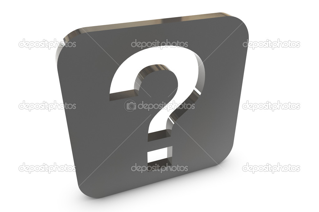 Black And White Question Mark Background Question Mark on White
