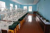 Chambre d'une colonie pour les criminels mineurs — Photo